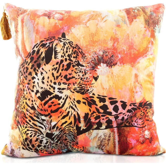 Accent and Occasional Furniture - Leopard Pillow