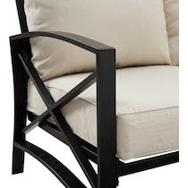 clarion outdoor living light brown outdoor sofa set