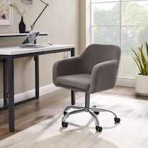 coco gray office chair