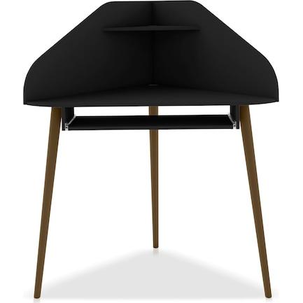 Columbia Corner Desk - Black