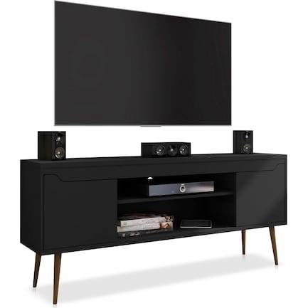 "Columbia 63"" TV Stand - Black"