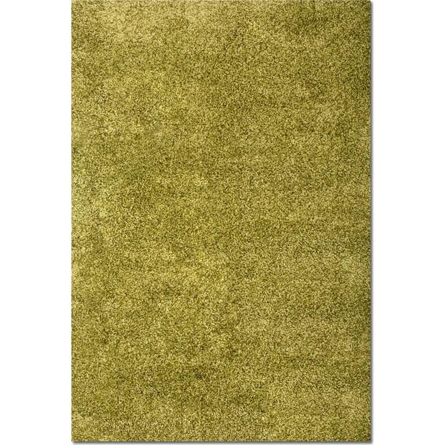 Rugs - Comfort Shag Area Rug - Green