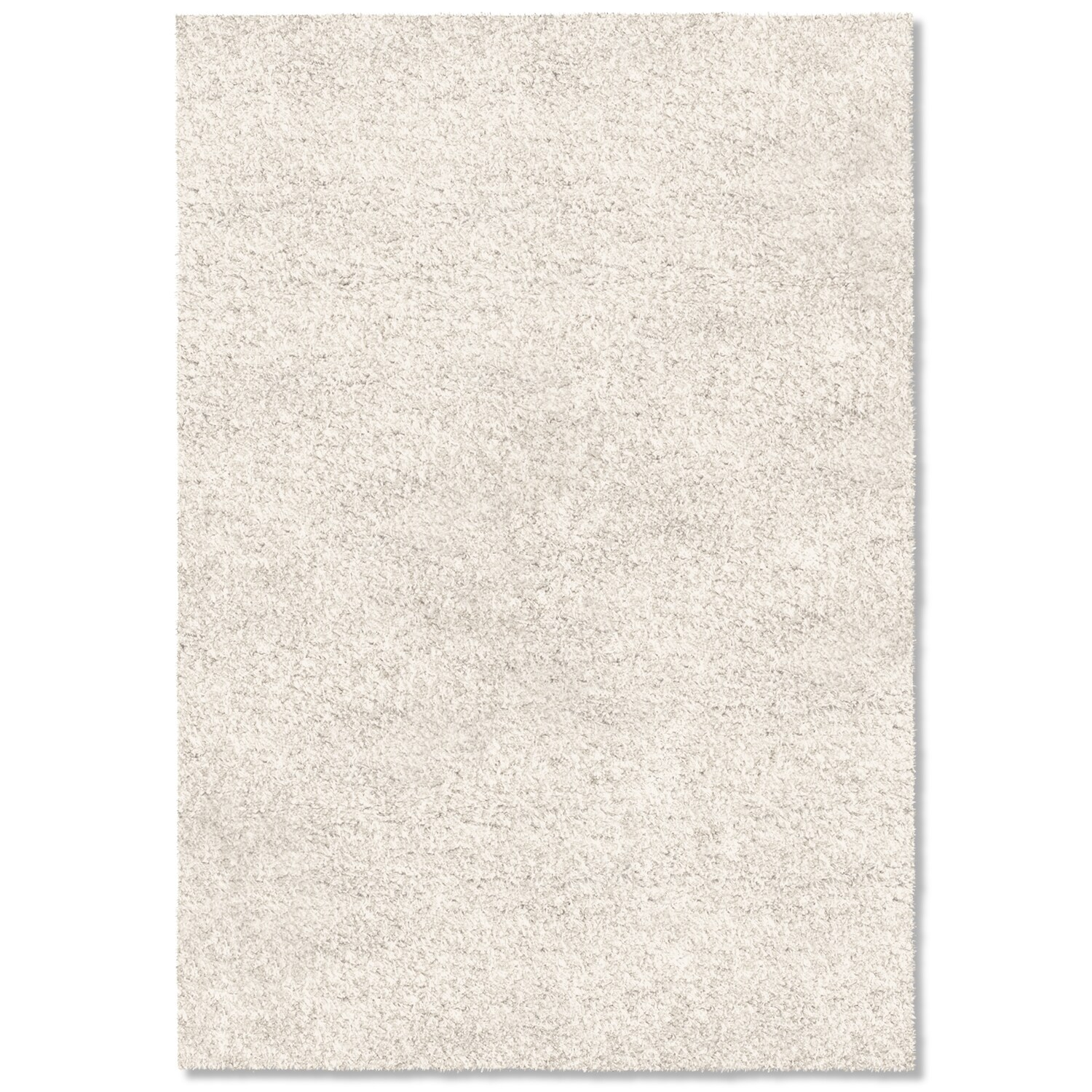 Rugs - Comfort Shag Area Rug - White