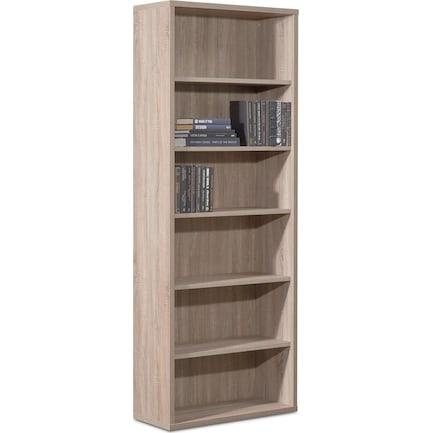Composad Large Bookcase - Truffle