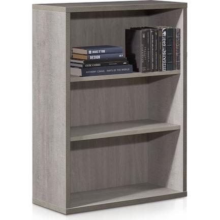 Composad Small Bookcase - Cement