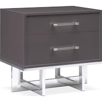 concerto gray nightstand