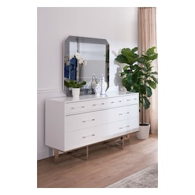 Concerto Dresser and Mirror