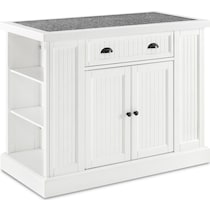 conway white kitchen island