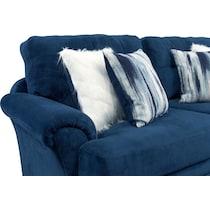 cordelle blue sofa