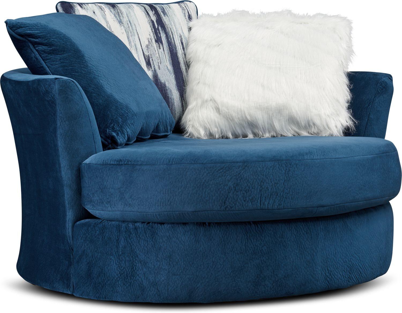 Living Room Furniture - Cordelle Swivel Chair