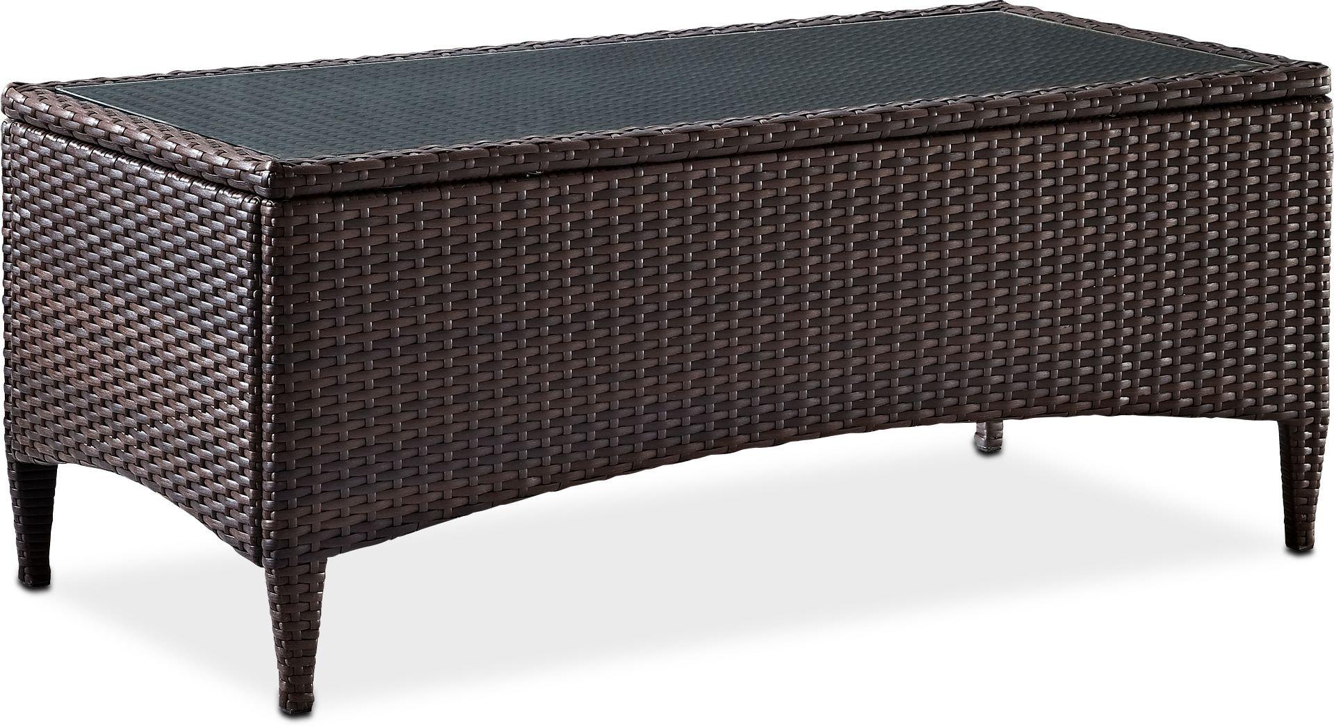 Outdoor Furniture - Corona Outdoor Coffee Table