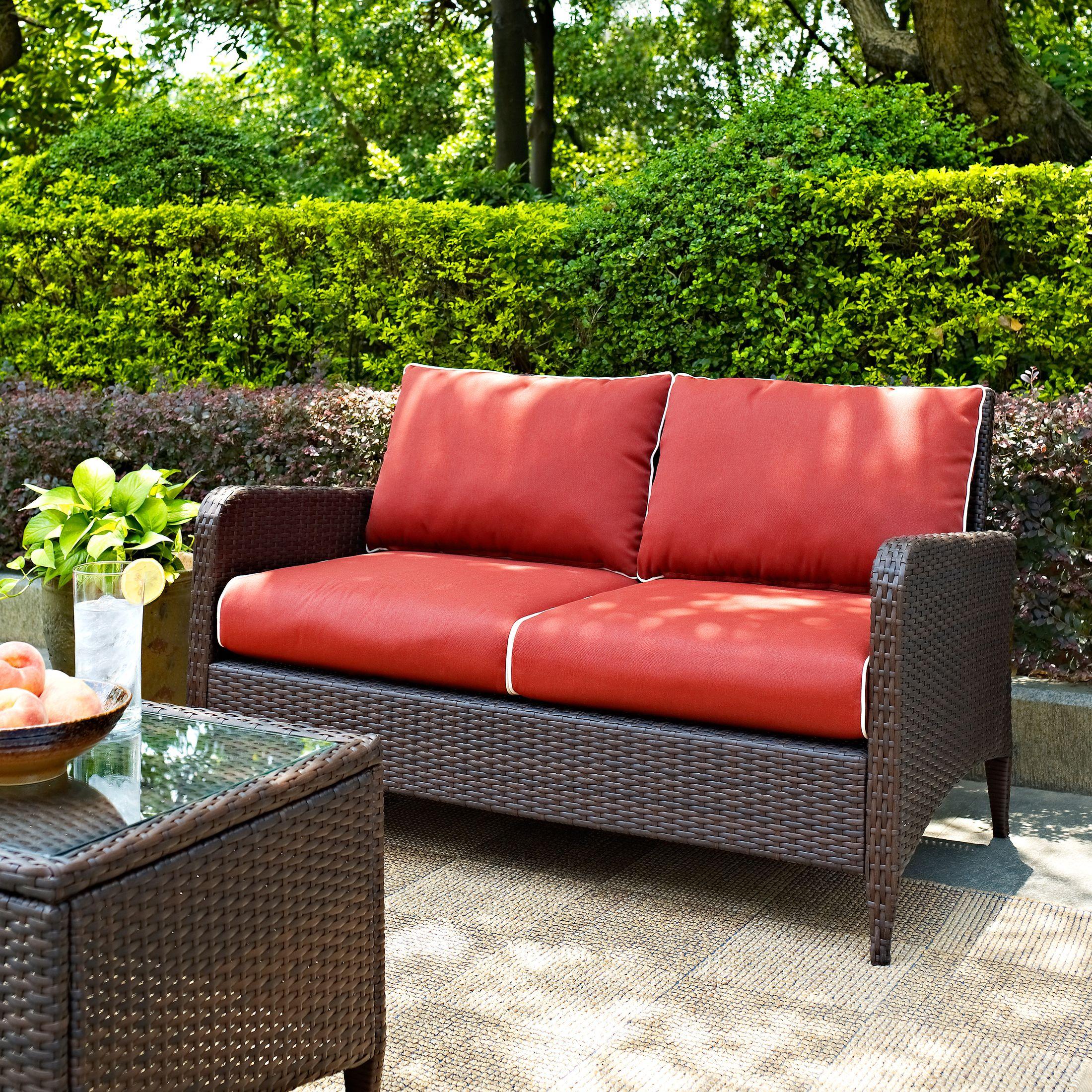Outdoor Furniture - Corona Outdoor Loveseat