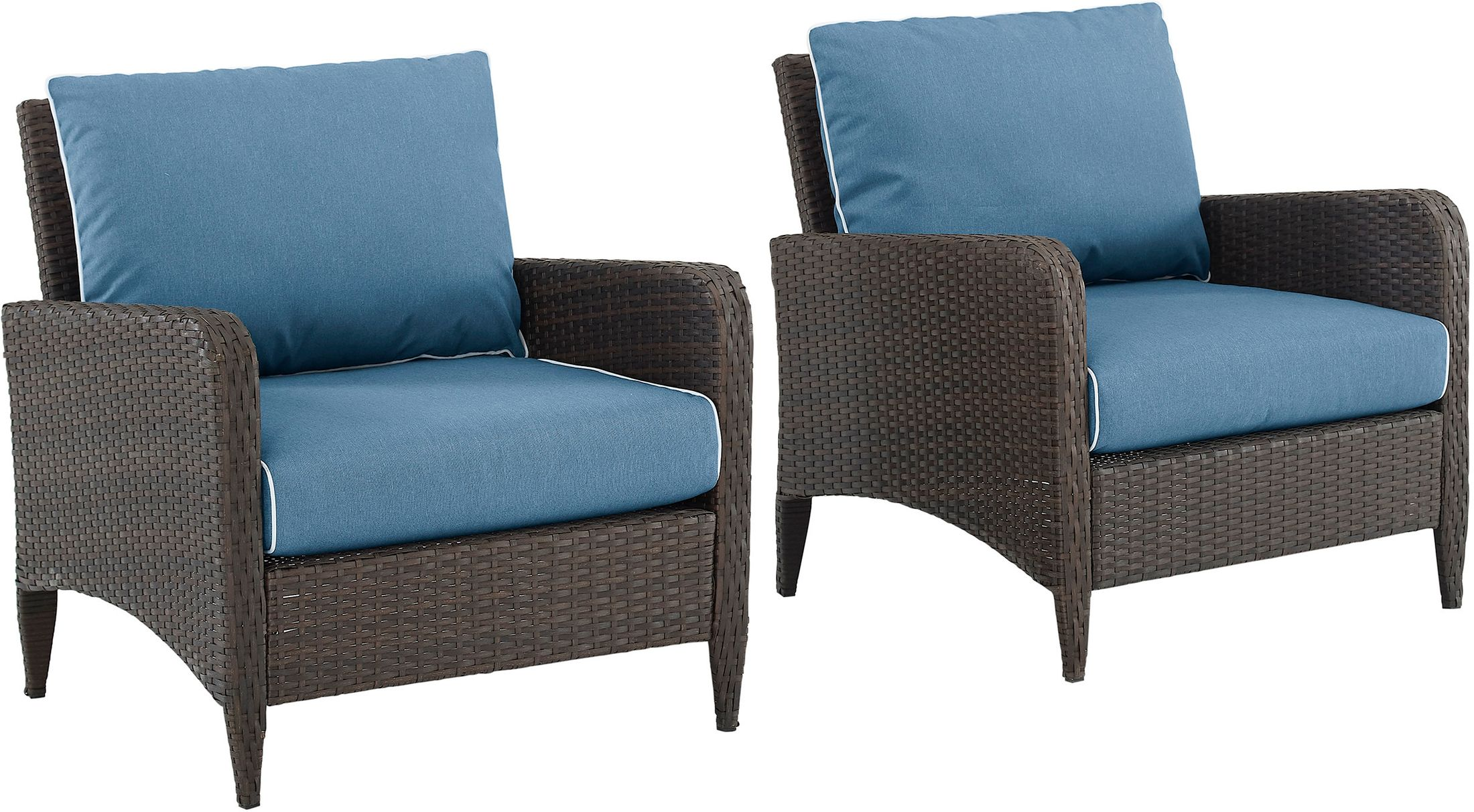 Outdoor Furniture - Corona Set of 2 Outdoor Chairs