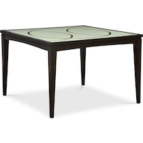 cosmo ii dark brown counter height table
