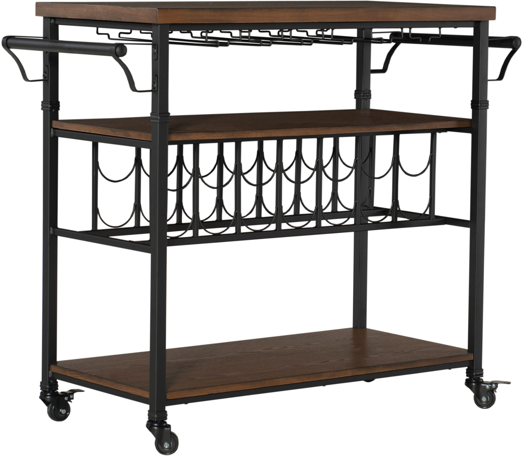 Accent and Occasional Furniture - Crawford Bar Cart