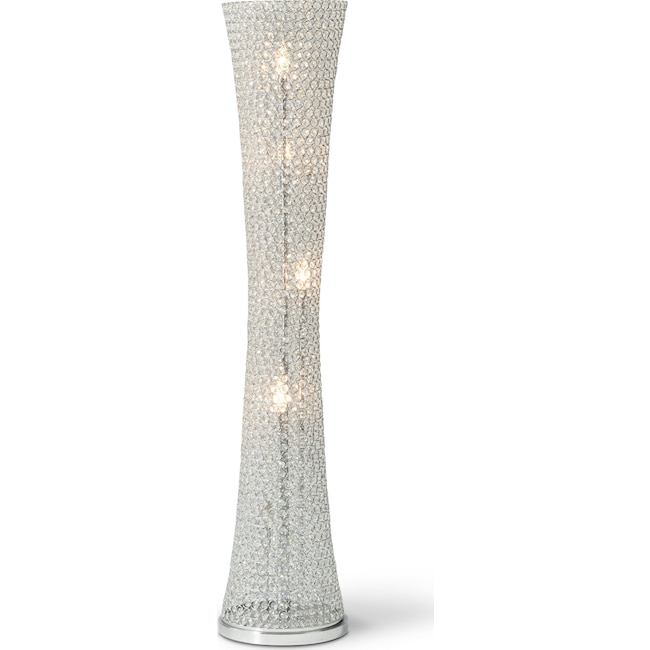 Home Accessories - Crystal Curve Floor Lamp