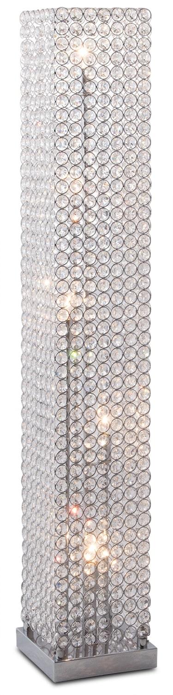 Crystal Tower Floor Lamp Value City