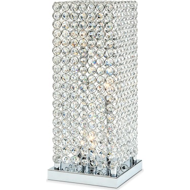 Crystal Tower Table Lamp Value City Furniture