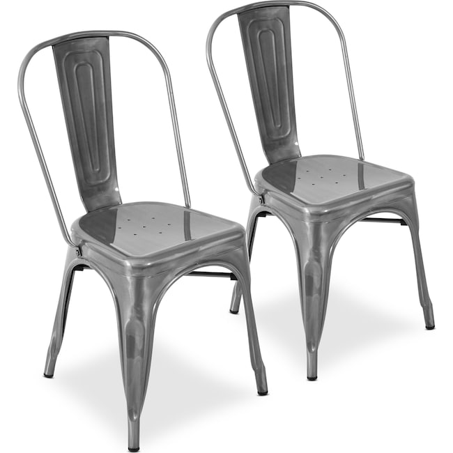 Dining Room Furniture - Dax Set of 2 Dining Chairs