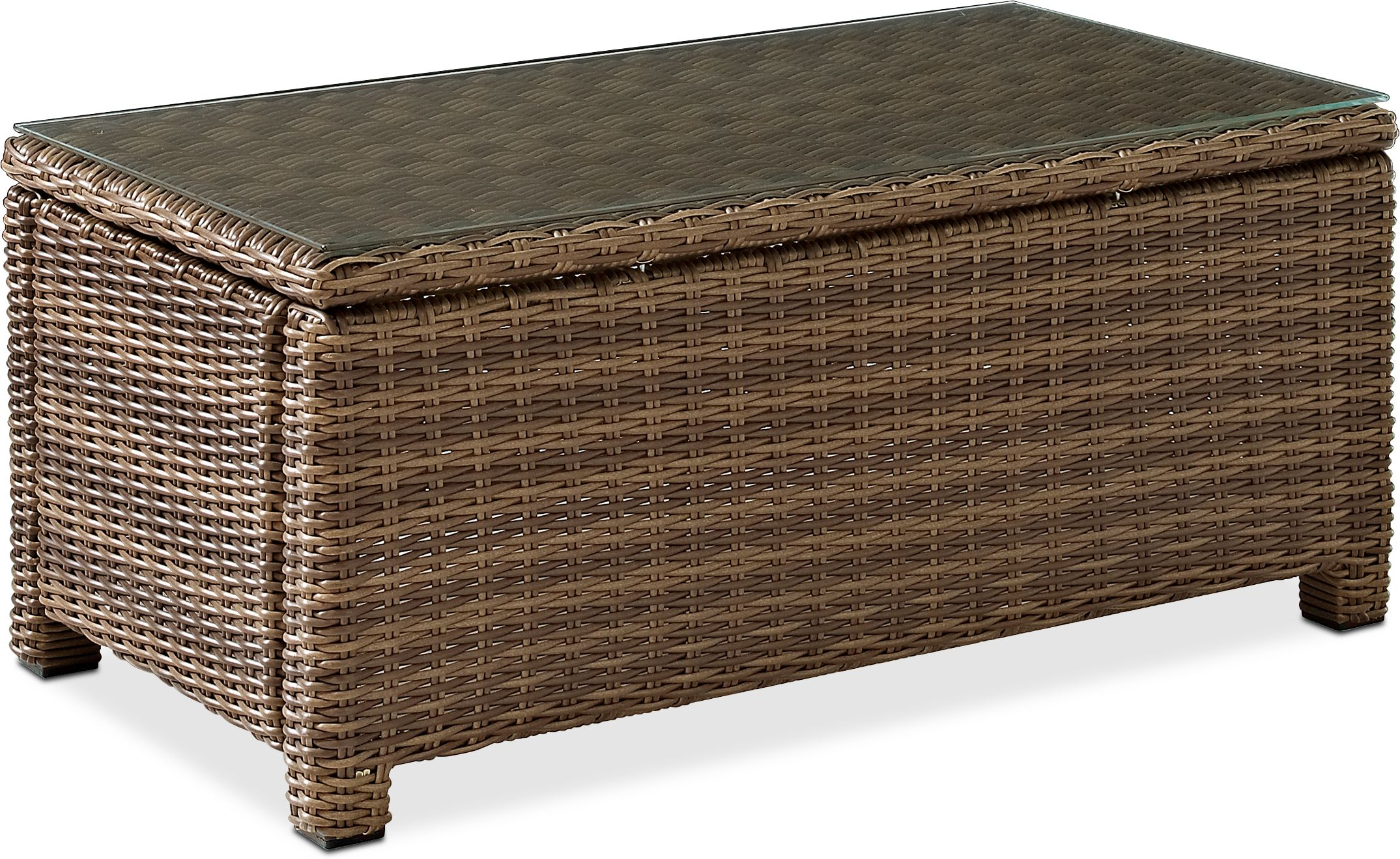 Outdoor Furniture - Destin Outdoor Rectangular Coffee Table