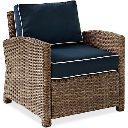 Destin Outdoor Chair - Blue