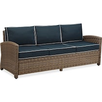destin blue outdoor sofa set