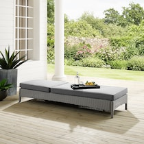 destin gray outdoor chaise