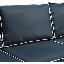 destin navy outdoor sofa