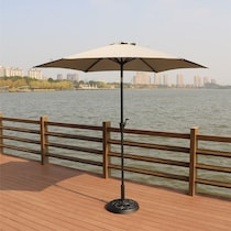 district gray outdoor umbrella