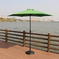 district green outdoor umbrella