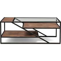 district gunmetal coffee table