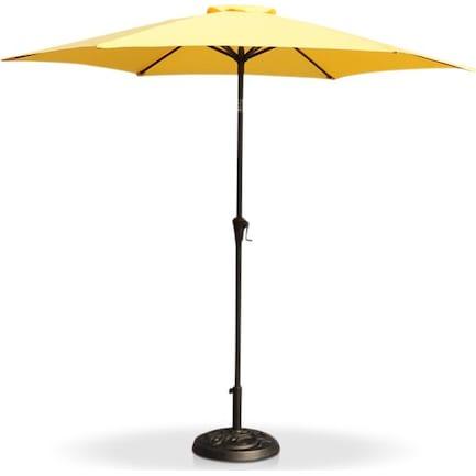 District Outdoor Umbrella - Yellow