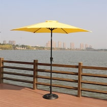 district yellow outdoor umbrella