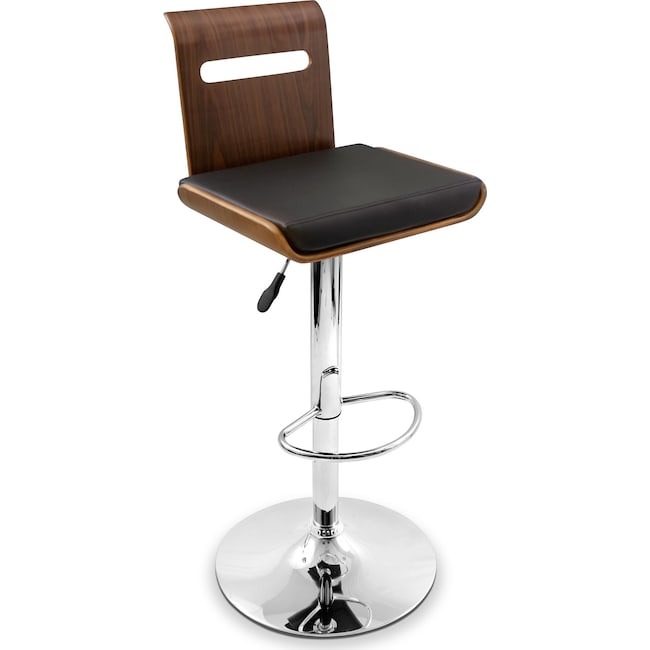 Accent and Occasional Furniture - Domato Adjustable Bar Stool