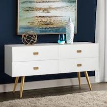 dominic white dresser