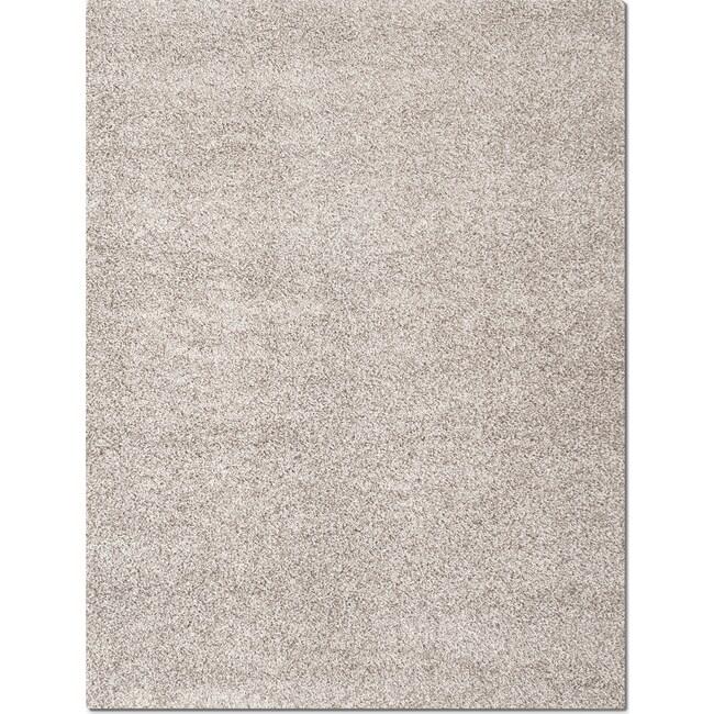 Rugs - Domino Shag Area Rug - Gray