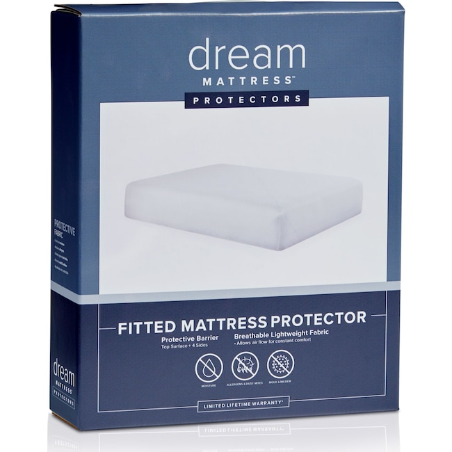 Mattresses and Bedding - Dream Fitted Mattress Protector