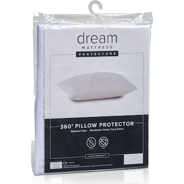 Dream Queen Terry Pillow Protector