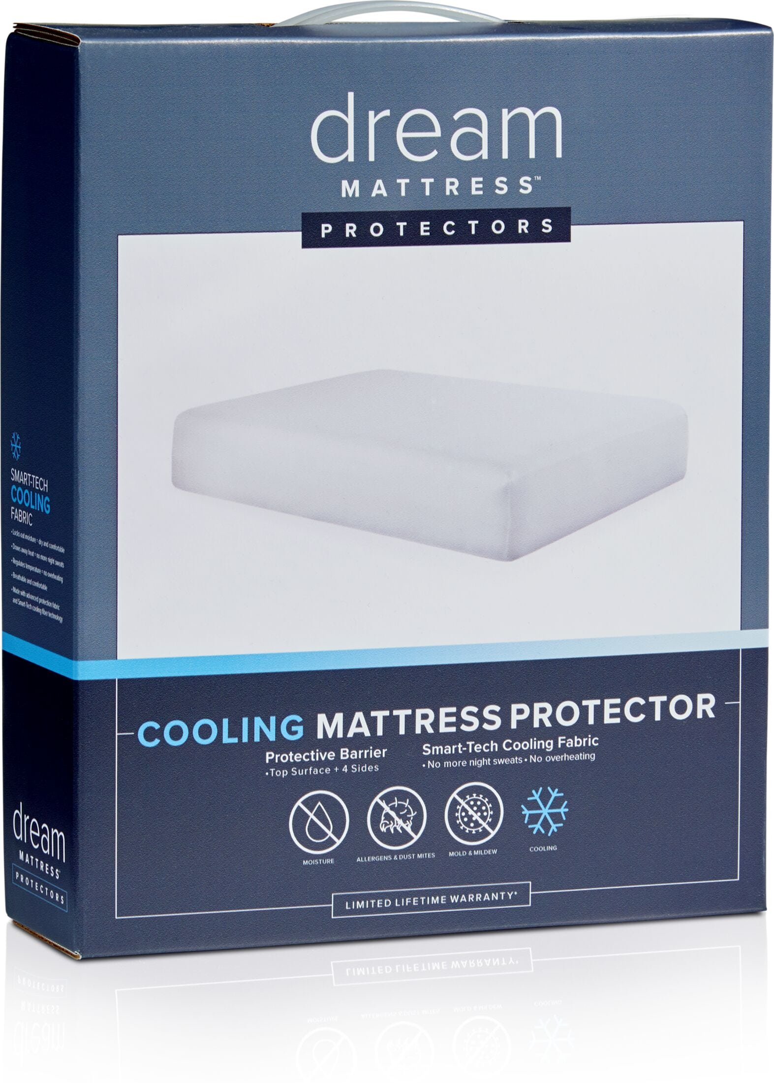 Mattresses and Bedding - Dream Cooling Mattress Protector