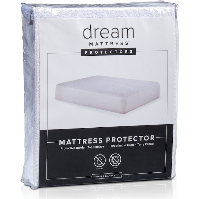 Mattresses and Bedding - Dream Terry Mattress Protector
