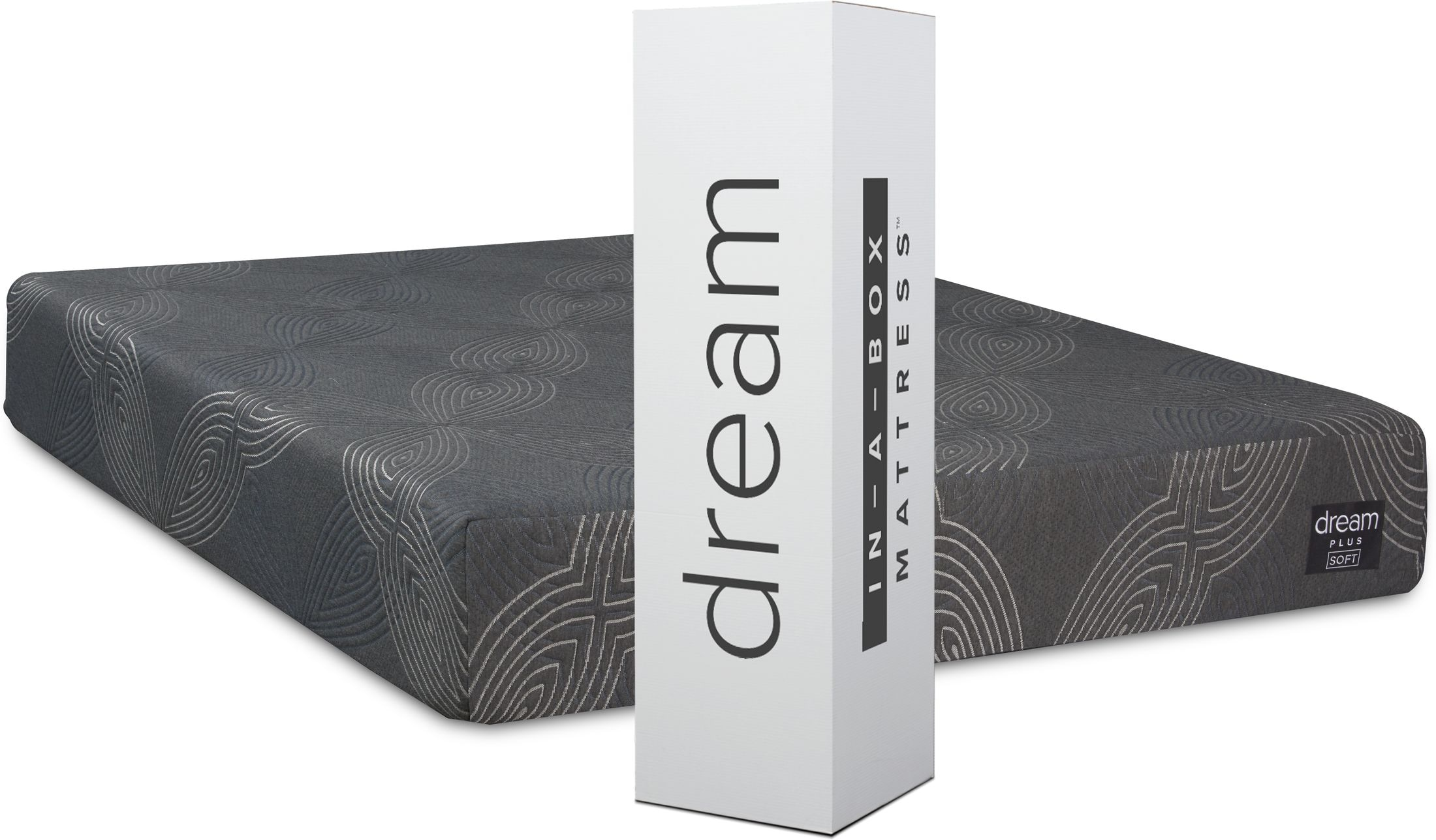 Mattresses and Bedding - Dream-In-A-Box Plus Soft Mattress