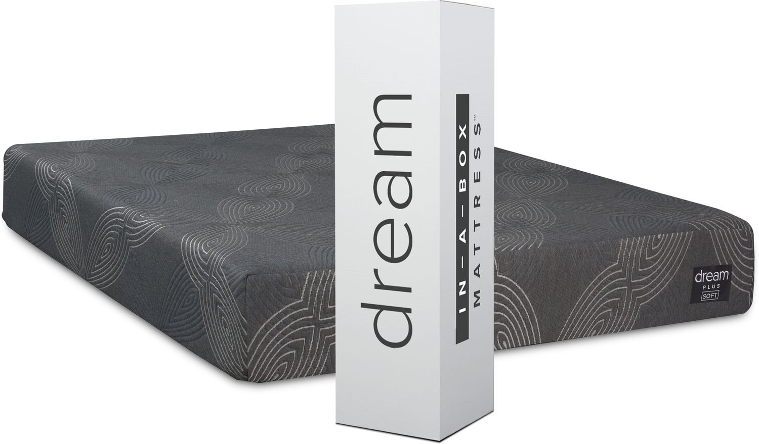 Mattresses and Bedding - Dream-In-A-Box Plus Soft Mattress