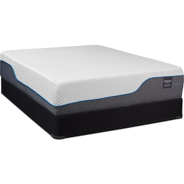 Dream Relax Medium Queen Mattress and Foundation