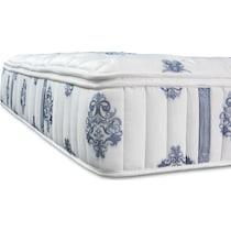 dream restore white queen mattress foundation set