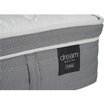 dream revive white california king mattress