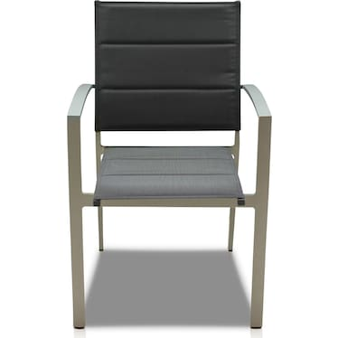 Edgewater Set of 4 Outdoor Chairs - Gray