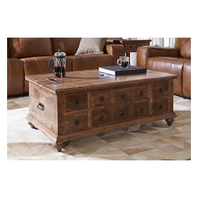 Ellis Trunk Coffee Table