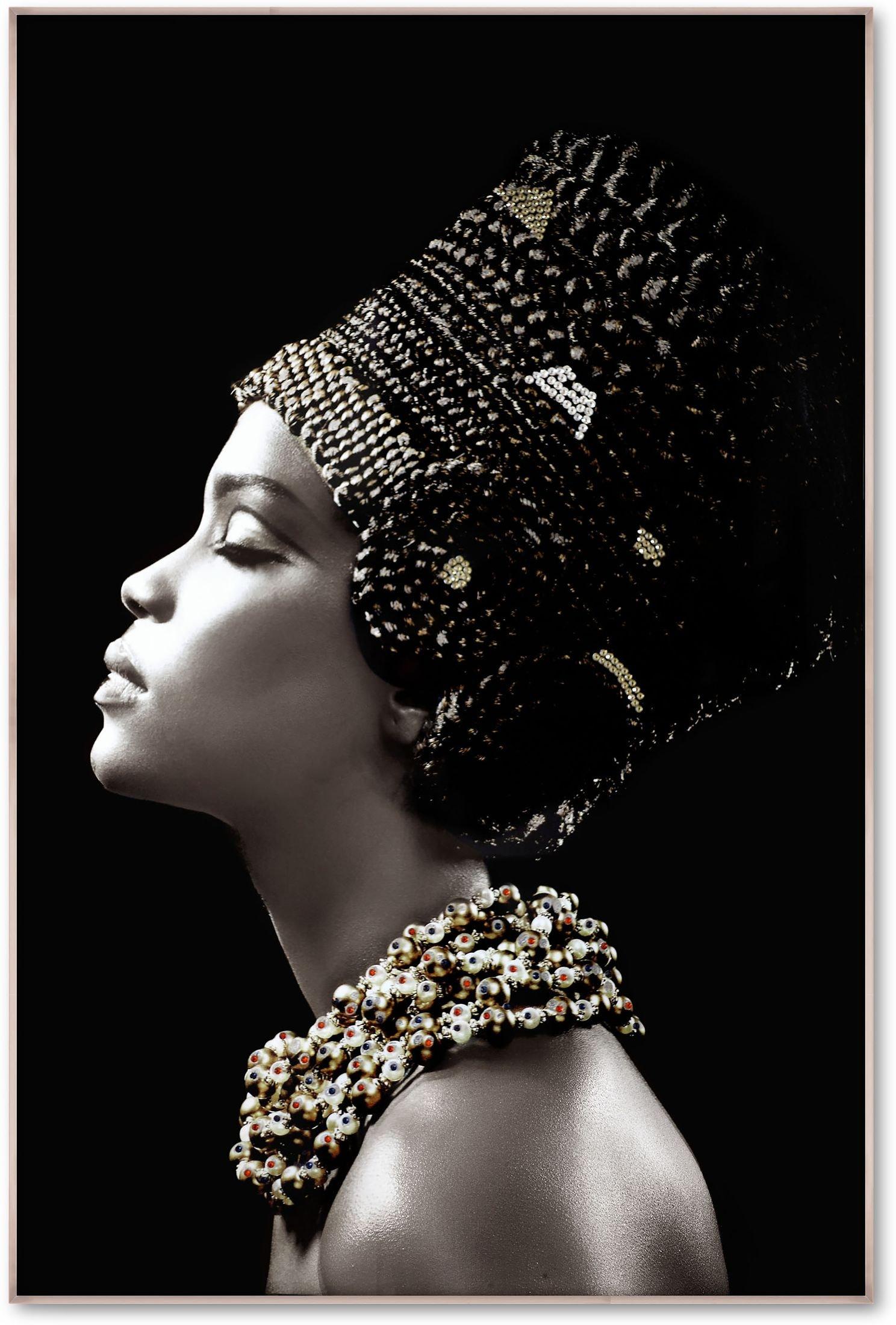 Home Accessories - Embellished Headdress Wall Art