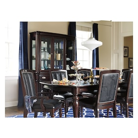 Esquire Dining Table and 6 Dining Chairs