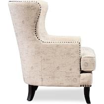 eva light brown accent chair